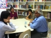 Arun Gandhi, Reporter, Lynnea Bylund, Emilia Queiroga