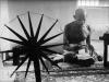 MK Gandhi Spinning