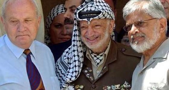Arun Gandhi - Yasser Arafat