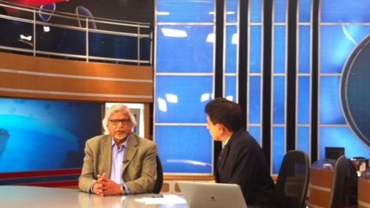 Arun Gandhi on Record News Brazil