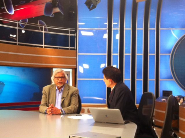 Arun Gandhi, Record News Interview Sao Paulo, Brazil