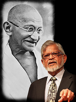 Bapu and Arun Gandhi