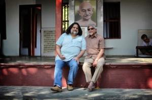 Arun and Tushar Gandhi