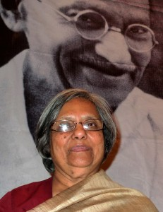 Gandhi's Grandaughter Ela in South Africa