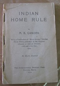 Gandhi-Home-Rule-First-Edition Gandhi's Swaraj