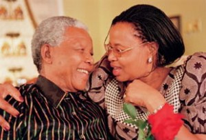 Graca Machel with Nelson Mandela Childrens Hospital