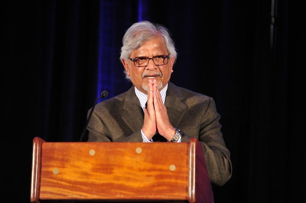 Arun Gandhi Namaste