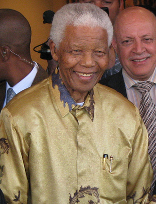 Loving Nelson Mandela